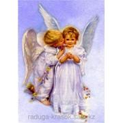 Картина стразами Ангелочки 40*60 фото