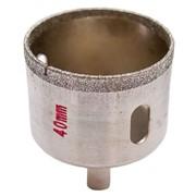 Коронка трубчатая по стеклу и керамике 40 мм Intertool SD-0363 фото