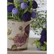 Цветы фиолетовые бутончики фото