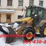 Уборка снега Киев. Механизированная уборка снега в Киеве. фото