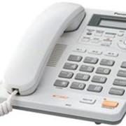 Проводной телефон Panasonic KX-TS2570RUW фото