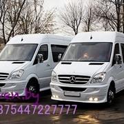 Прокат микроавтобуса Мерседес Спринтер НОВЫЙ. в Минске фото