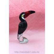 Сувенир Тукан сувенир из художественного стекла фото