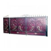 Кованые ворота декоративные фото