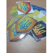 Печать наклеек с ламинацией и без. Любые размеры печати на самоклейке., Киев фото