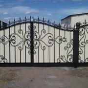 Ворота кованые,с калиткой,в Кривом Роге фото