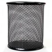 Стаканчик металлический, черный WG4320 фото