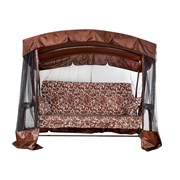 Качели Ранго-Премиум Шоколад и Бордо Доставка по РБ. Нагрузка 400 кг. фото