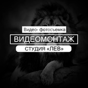 """Монтаж видео   Студия """"ЛЕВ""""   Видеосъемка фото"""