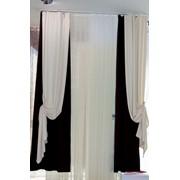Индивидуальный пошив штор, гардин, ламбрекенов Винница фото