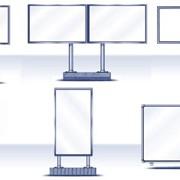 Конструкции рекламные фото