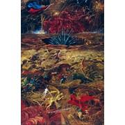 """Айбек Бегалин """"Армагеддон"""" 1996г. 180х120см х.м. фото"""