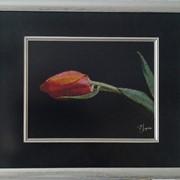 Картина «Объяснение в любви»,ручная работа, вышивка. фото