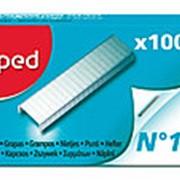 Скобы для степлера №10 Maped , 1000 шт. фото