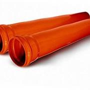 Труба наружной канализации ПВХ Ø160 длина 6000 мм SN8 фото