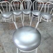 Обивка ремонт и перетяжка стульев фото