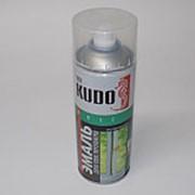 Эмаль для ПВХ профиля белая полуматовая KUDO KU-6101 520 мл (аэрозоль) фото