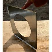 Заглушки прямоугольного сечения из оцинкованной стали фото