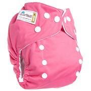 Многоразовый подгузник Розовый фото