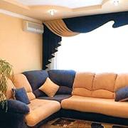 Шторы для зала, текстиль для дома и ресторанов. фото
