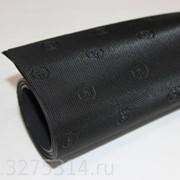 Подметочная резина TOPY ELYSEE т. 1,0 мм цв., черный фото