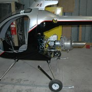 Вертолет Mosquito XET - аналог модели Mosquito XE, снабжен турбинным двигателем.. фото