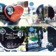 Гранитный памятник №243 фото
