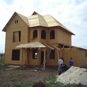 Строительство дачи. Каркасно-панельная технология. Канадский дом фото