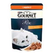 Корм для котов Gourmet Perle паучи с индейкой в подливке фото