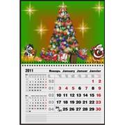 Календарь квартальный настенный фото