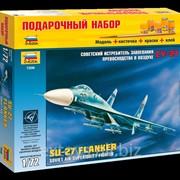 Звезда 7206, Советский истребитель завоевания превосходства в воздухе Су-27 (масштаб 172) фото