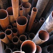 Резка трубы стальной фото