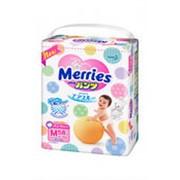 Подгузники-трусики MERRIES М 3 (6-10кг), 58шт фото