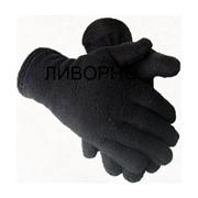 Перчатки утепленные флис фото