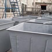 Контейнеры для мусора, мусорные баки, сборщик ПЭТ тары. Скамейки, опоры. Для ЖКХ фото