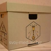 Ульи из гофрокартона для временного содержания пчёл фото