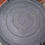 Люк канализационный фото