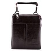 Коричневая мужская сумка через плечо Bradford фото