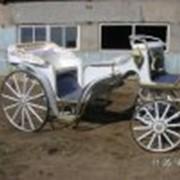 Фаэтон Медея, кареты свадебные посадочных мест 4+2 фото