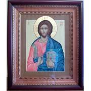 Икона Спасителя в кивоте фото