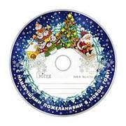 Оптический диск DVD-R 4.7 Гб Mirex Новогодний в обтяжке по 50шт. фото