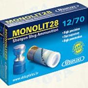 "Патр.(12х70)-пуля ""MONOLIT"" (28г) (DDUPLEKS) фото"