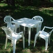 Аренда пластиковой мебели