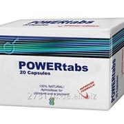 Возбуждающие таблетки POWER tabs для мужчин фото