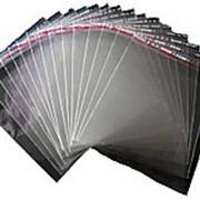 Пакет упаковка прозрачный БЕЗ РИСУНКА 26x40см фото