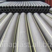 Труба для газопровода 0SDR-11 PN 6.3 ПЭ-80/100 ф63 фото