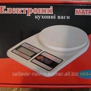 Кухонные весы matrix mks 400 5кг фото