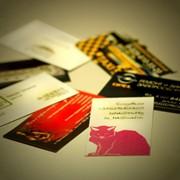 Визитки, флаеры, каталоги фото