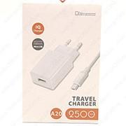 Сетевое Зарядное Устройство 2.5A USB + Micro Usb White фото
