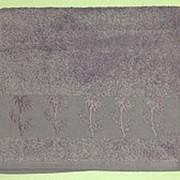 Сиреневый Bamboo 50х90 бамбук полотенце (1шт) Фиеста фото